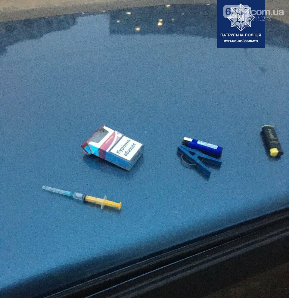 В Рубежном патрульные выявили водителя под наркотическим опьянением, фото-1, Патрульная полиция Луганской области