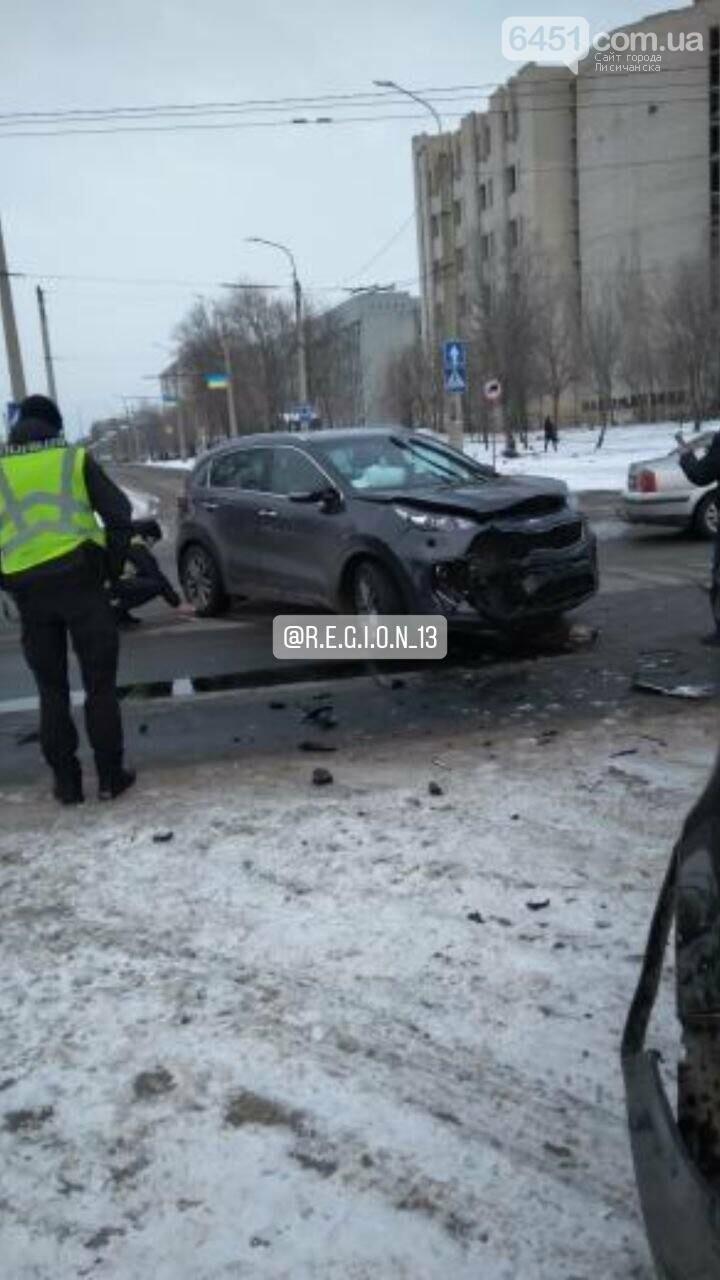 В ДТП в Северодонецке пострадал ребёнок, фото-2, R.E.G.I.O.N 13/Teligram