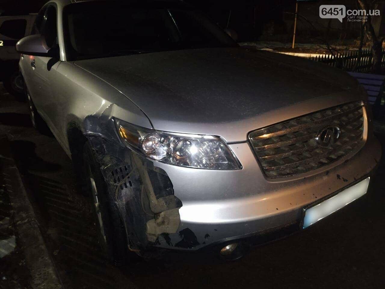 Совершил ДТП и сбежал с места происшествия: в Кременной отыскали водителя-беглеца, фото-1, Полиция Луганской области