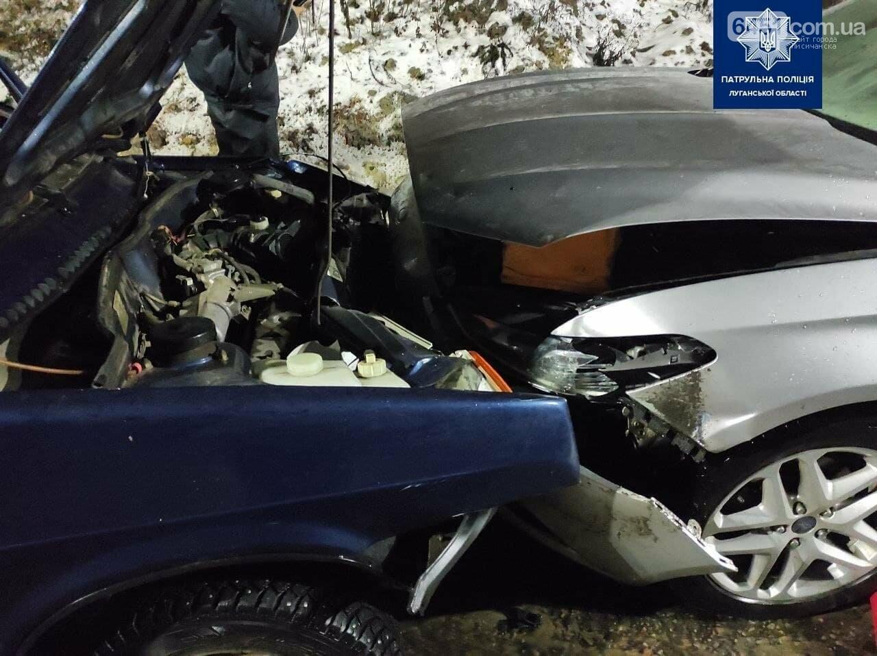 В ДТП в Лисичанске постарадали 5 человек, фото-1, Патрульная полиция Луганской области