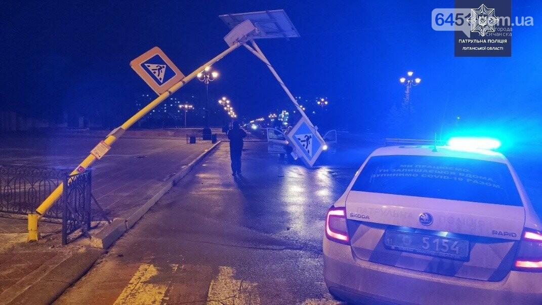 Нетрезвый водитель совершил ДТП в Лисичанске, фото-1, Патрульная полиция Луганской области