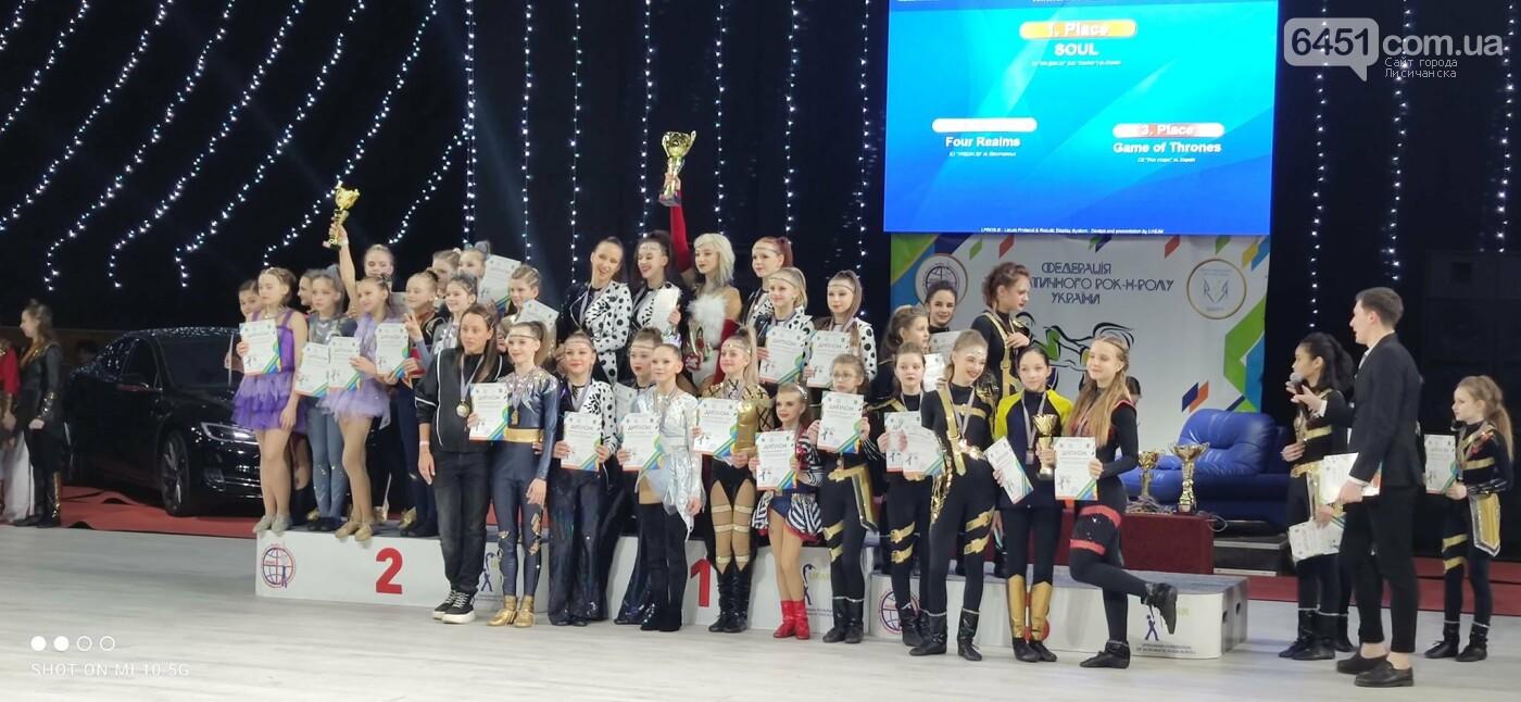 Юные лисичане заняли призовые места в чемпионате Украины по акробатическому рок-н-роллу, фото-2