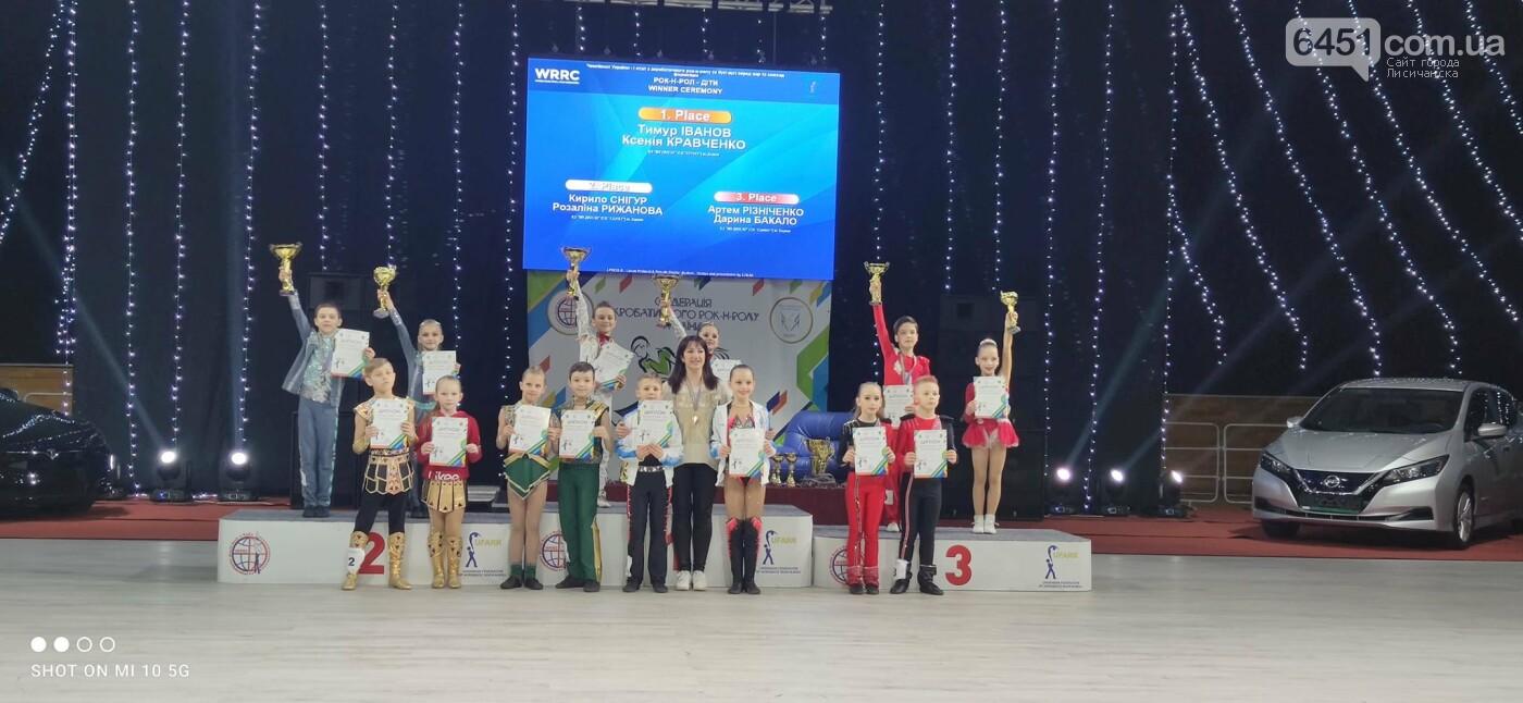 Юные лисичане заняли призовые места в чемпионате Украины по акробатическому рок-н-роллу, фото-3