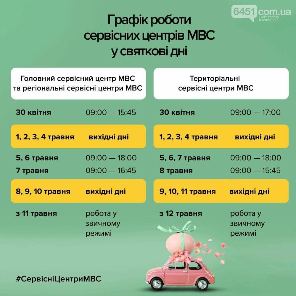 График работы сервисных центров МВД на Пасху и майские праздники, фото-1