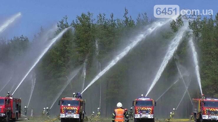 На Луганщине участники учений отрабатывали ликвидацию пожаров в экосистемах, фото-1, Пресс-служба ГУ ГСЧС в Луганской области