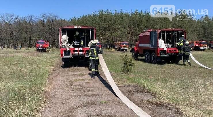 На Луганщине участники учений отрабатывали ликвидацию пожаров в экосистемах, фото-3, Пресс-служба ГУ ГСЧС в Луганской области