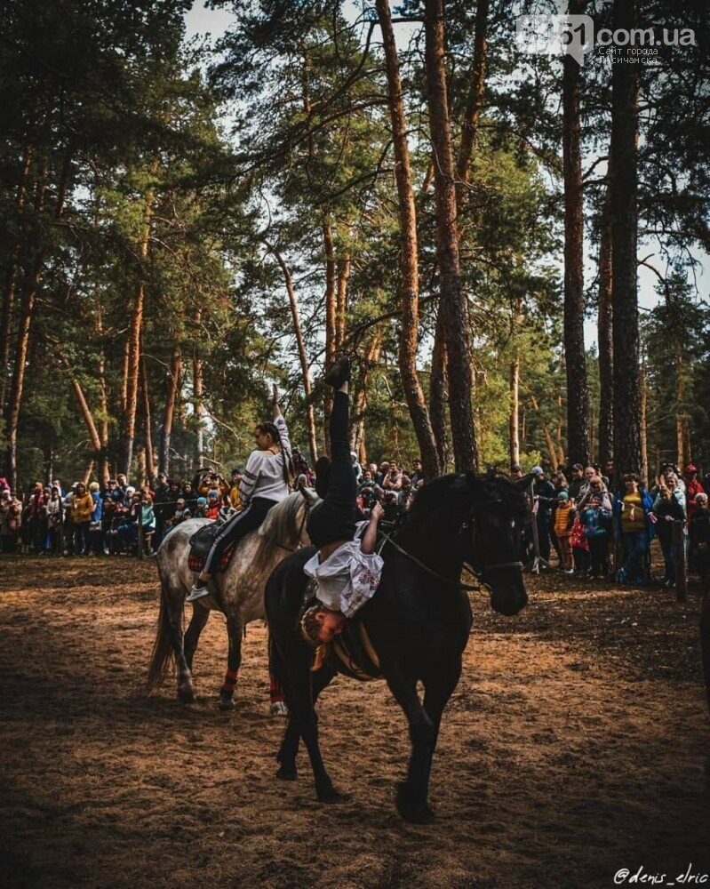 В Кременной прошло представление конного театра , фото-3, https://www.instagram.com/denis_elric/